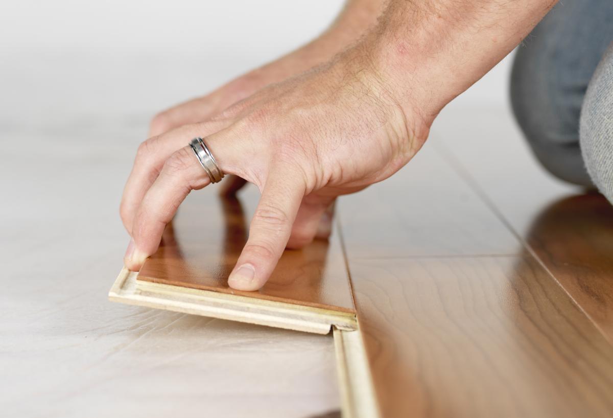 Hardwood Floor Installation installing wood flooring over concrete Professionally Installed Hardwood In Bullhead City