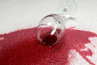 red wine carpet stain az